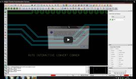 Allegro PCB Editor AutoInteractive Convert Corners