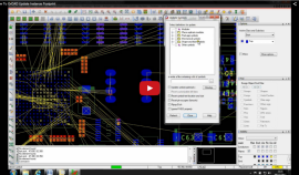 OrCAD/Allegro PCB Editor Update Instance Footprint