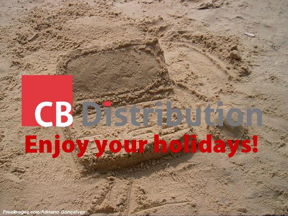 Enjoy your holidays!
