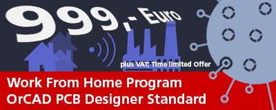 "OrCAD Special: ""Work from Home Program"" for Euro 999,-"